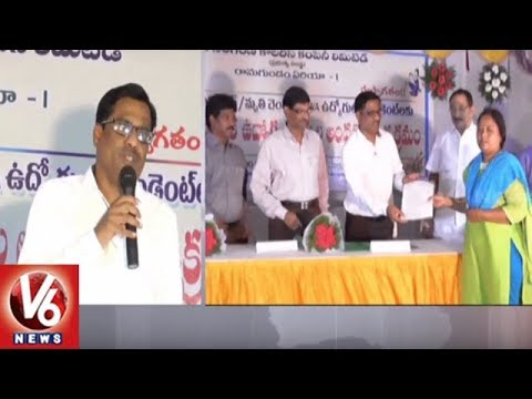 Singareni Management Begins Dependent Jobs Process In Godavarikhani | V6 News