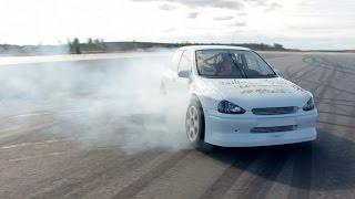 Opel Corsa 4x4 - Finally some playful driving @ Skellefteå Drive Center