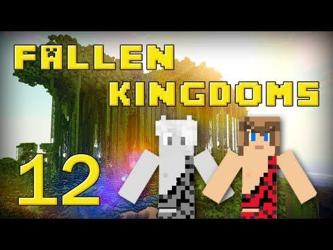 fallen kingdoms 2 : frigiel & ectalite | jour 12 - minecraft