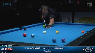 2017 US Open 10-Ball: Van Boening vs Kiamco - Finals