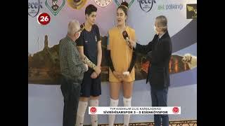 Tepebaşı Gençlik 3 - Esenköy  Bld 0 TVF Kadınlar Voleybol 2.Lig