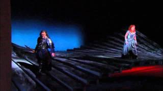 Die Walküre: Act II Opening -- Bryn Terfel & Deborah Voigt (Met Opera)