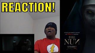 THE NUN - Official Teaser Trailer REACTION!!!