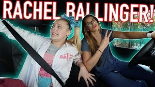 DRIVING WITH RACHEL BALLINGER!!!
