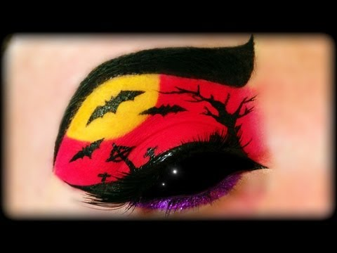Halloween Make Up Tutorial (easy) Trucco Halloween
