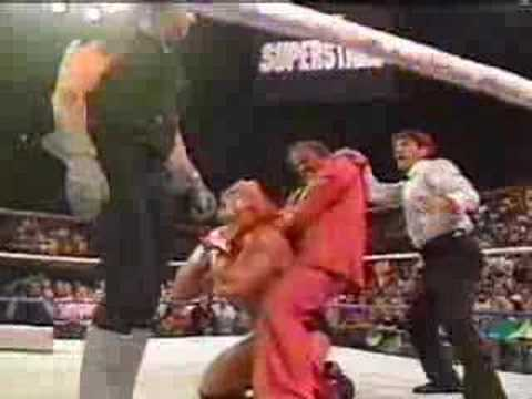 jake roberts and the undertaker attack sid justice youtube