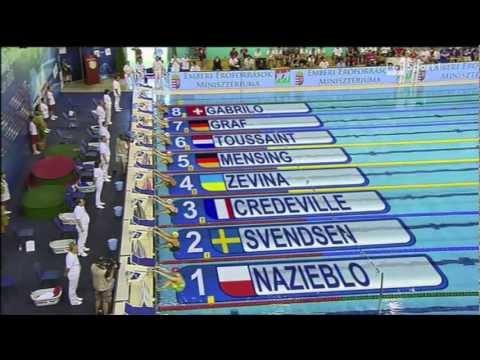 Campionati Europei 2012 - 100m Dorso - Eliminatorie