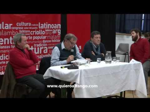 Foro Arg. de Cultura Urbana en el  4to. Congreso Universitario Internacional de Tango Argentino