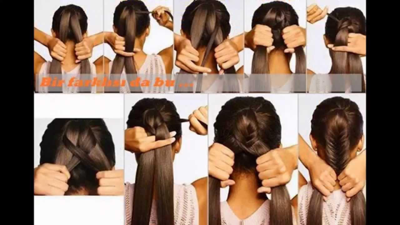 En Kolay Örgü Saç Modelleri. saç örgü modelleri, kolay örgü saç modelleri, en kolay saç modelleri...