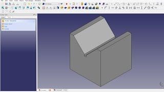 FreeCAD 0.16 (4703) V-Block - Getting started