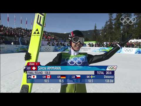 Ammann - Ski Jumping Large Hill - Vancouver 2010 Winter Olympic Games