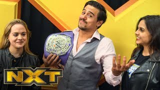 Angel Garza on surprising his family: NXT Exclusive, Dec. 11, 2019