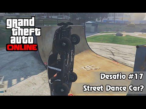 GTA V PS4 Online: Missão Impossível #17 - Street Dance com Carro de Polícia