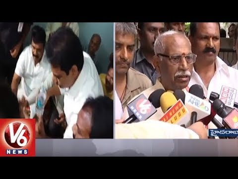 Bandaru Dattatreya Speaks On Sharath Koppu Murder In Kansas, USA | V6 News