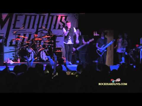 Memphis May Fire ~ Full Set ~ 6 18 13 On Rock Hard Live video