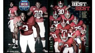 TOP 11 BEST ALABAMA CRIMSON TIDE FOOTBALL CHAMPIONSHIP TEAM