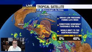 Tracking the tropics: Watching the Caribbean for potential development