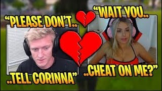 TFUE CHEATS ON CORINNA (Fortnite Funny Moments)