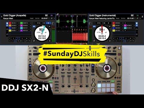 Pioneer DDJ SX2 Mix - Gold Wordplay Routine
