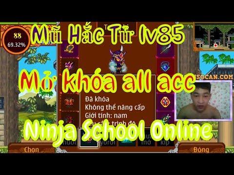 ►Ninja School Online   Combo Mũ Hắc Tử Lv85...NSOCAN Mạnh Cỡ Nào - Admin Thông Báo Mở Khóa Acc thumbnail
