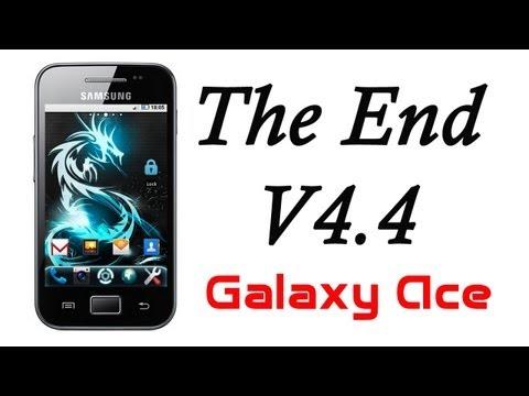 ROM The End V4.4 para el Galaxy Ace
