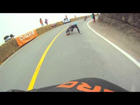 Copa de los Reyes 2012 - IGSA Downhill skateboarding -  Lima, Peru