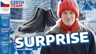 OLYMPIC SURPRISE | Figure skating ⭐ STAR ⭐ shocked Seoul | #CZECHTEAM