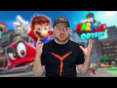 Лучший 3D-платформер: Super Mario Odyssey