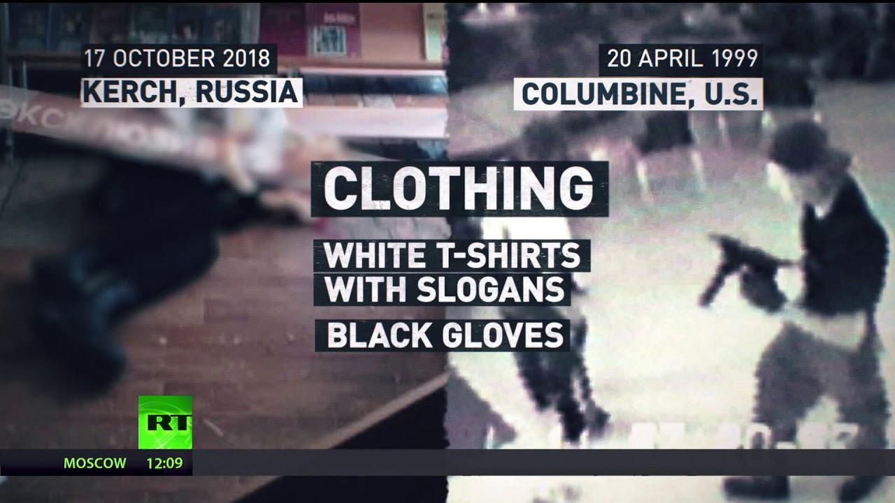 Shocking resemblance: Crimea massacre closely fits Columbine pattern