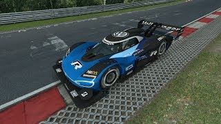 First Electric Car in RaceRoom! Volkswagen ID.R - Nordschleife - Competition