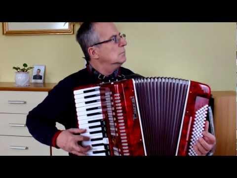 ROMAN Gra Na Akordeonie - Padam, Padam...(cover - Edith Piaf)