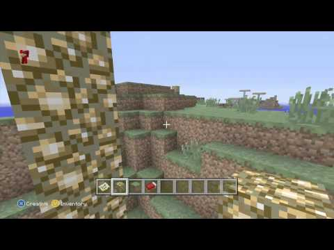 Xbox360 Minecraft Best Survival Island Seed 2015! UPDATED LOOK IN THE DESCRIPTION FOR SEED!