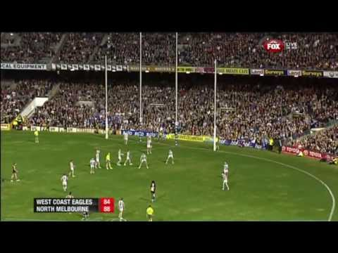 Nic Naitanui Pack Mark & Winning Goal after the siren (R8, 2013)
