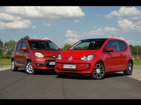 Volkswagen up! vs Fiat Panda - Kto zostanie królem miasta?