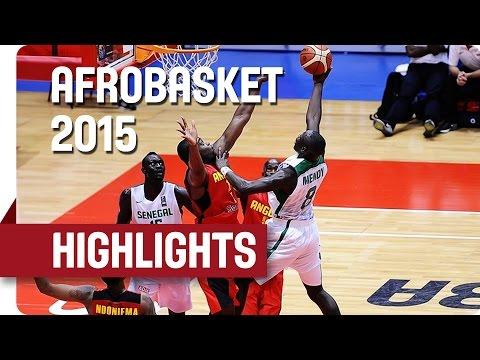 Senegal v Angola - Game Highlights - Group B - AfroBasket 2015
