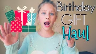 Birthday Gifts Haul Hope's 11th Birthday presents and toys from family hopes vlogs