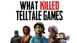 What Caused the Demise of Telltale Games   Writing the Wrong Story