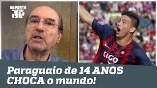 Novo Pelé? Paraguaio de 14 ANOS faz gol e CHOCA o mundo!