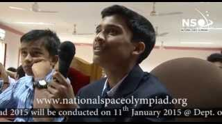 National Space Olympiad 2014