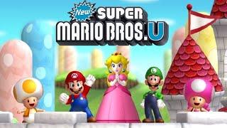 New Super Mario Bros. U Co-op - Worlds 1 through 9 (All Star Coins / Secret Exits)