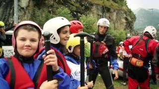 Con il rafting alla scuola del fiume - Roma