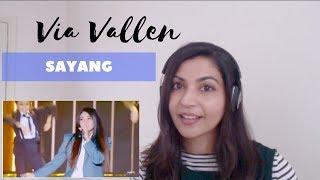Via Vallen- Sayang (Indonesian Choice Awards)-- Reaction Video!