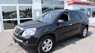 2012 GMC Acadia SL - Used SUV For Sale - Somerset, Wisconsin