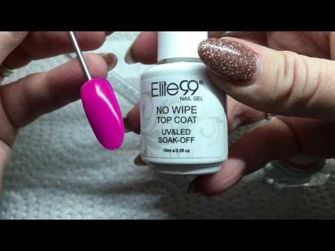 Elite 99 Color Changing Gel with Holographic Powder!