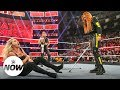 Suspended Becky Lynch attacks Charlotte Flair and Ronda Rousey with crutches: WWE Now thumbnail