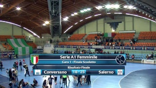Serie A1F [Finale G1]: CONVERSANO - SALERNO 18-25