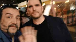 La casa di Jack Film di film Lars von Trier: Matt Dillon saluta i fan col Salutatore