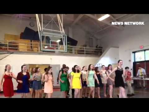 Haverford Middle School students perform The Bugle Boy from Company    'B'