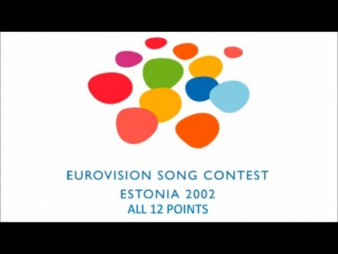 Eurovision 2002 All 12 Points klip izle