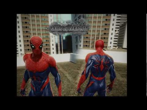 The Amazing Spider-Man-How to do skins by Texmod